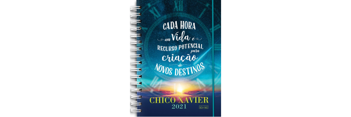 Agenda Chico Xavier 2021