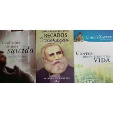 MARIA NAZARETH DORIA / JOSE CARLOS DE LUCCA / CHICO XAVIER/IRMAO X