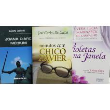 LEON DENIS + JOSE CARLOS DE LUCCA + VERA LUCIA MARINZECK