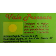 VALE PRESENTE - AMARELO