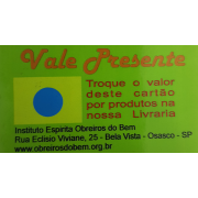 VALE PRESENTE - AZUL