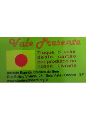 VALE PRESENTE - VERMELHO
